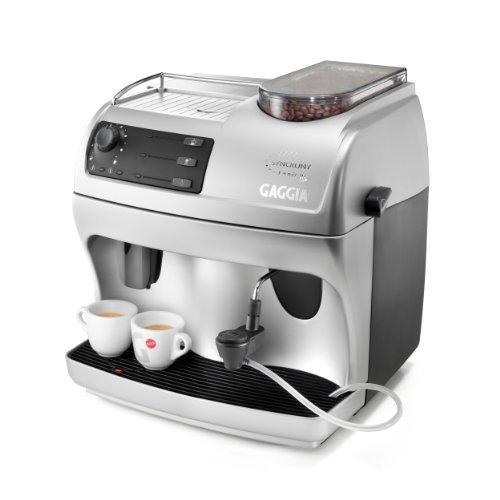 Gaggia 90101Synchrony Logic súper-automática máquina de café expreso, Color Plateado
