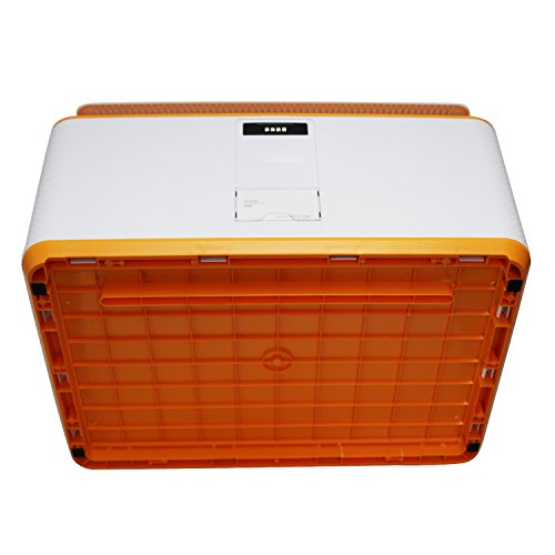 EVERTOP Extra Large Deck Box for Home, Office, Car, White with Code Lock (A-Orange) by EVERTOP (Image #4)