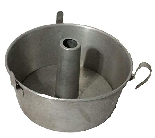 Vintage Mirro Aluminum Round Angel Food Cake Pan - Handle and Cooling Legs 5394M-10 USA