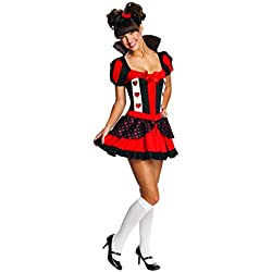 Rubie's Costume Queen Of Hearts Tween Costume, Medium