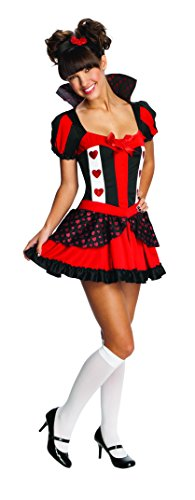 Alice Queen Of Hearts Costumes (Rubie's Costume Queen Of Hearts Tween Costume, Medium)