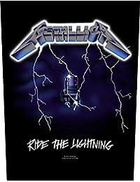 Backpatch Rückenaufnäher # 10 Ride The Lightning