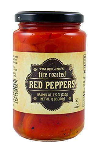 Trader Joe's Fire Roasted Red Peppers 12 OZ (340g)