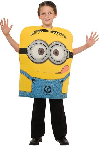Minions Dressing Up Costumes (Despicable Me 2 Minion Dave Costume, Medium)