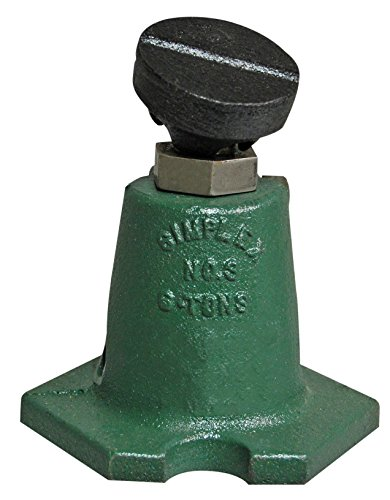 Simplex PJ4P Steel Mechanical Planer Screw Jack, Used in Leveling Work, 8 Ton Capacity with 4'' Stroke by Simplex