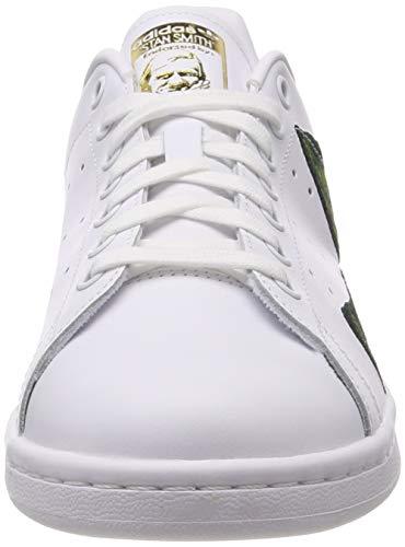 White adidas Weiß Ftwr W White Gymnastikschuhe Damen Stan Gold Ftwr Ftwr White Smith White Met Met Gold Ftwr qO1wH4xq