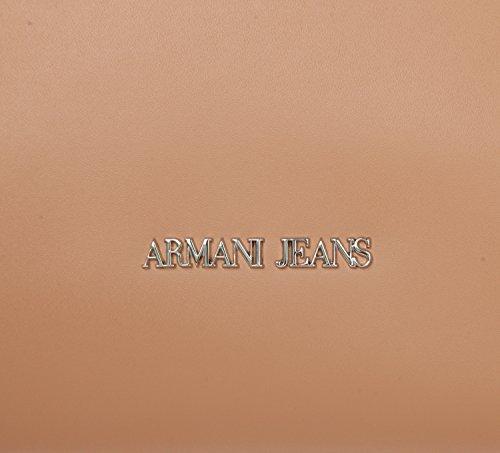 Armani Jeans Borsa Top Handle Donna Pvc/Plastica Camel Tannin Mejor Auténtica WlprAKVK