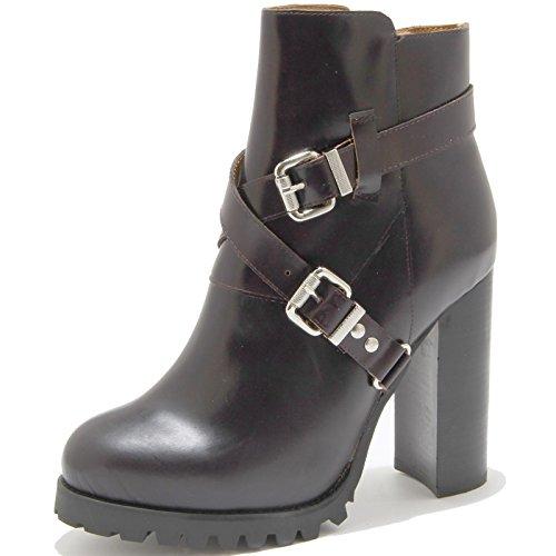 Scarpa Boots Mercer Campbell 76220 Shoe Vinaccia Donna Jeffrey Stivale Brown Tronchetto 8qwn47XF