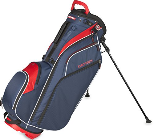 Datrek Golf Go Lite Hybrid Stand Bag (Red/White/Blue)