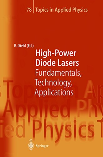 High-Power Diode Lasers: Fundamentals, Technology, Applications (Topics in Applied Physics Book 78) (78 Laser)