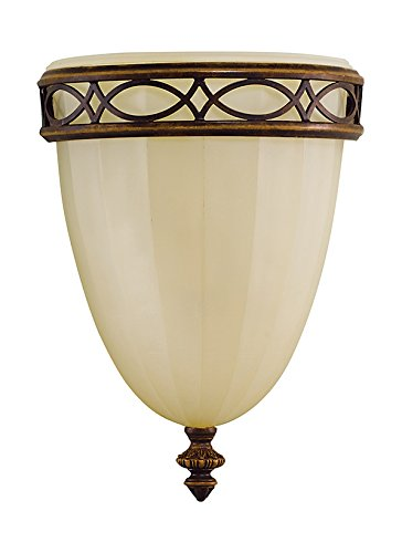 Walnut One Light Bath Fixture - 8