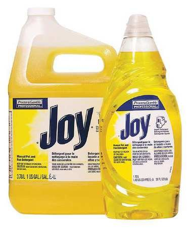 Liquid Dishwashing, 38 oz, Lemon, PK8