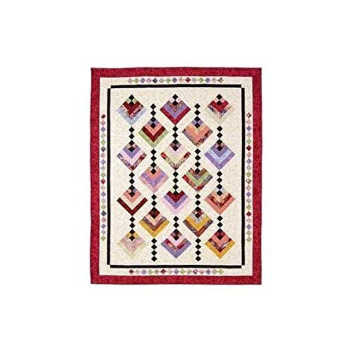 Pattern~Hanging Gardens~2 1//2 Strips Cozy Quilt Design