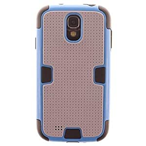 ZL Samsung S5 I9600 compatible Special Design Silicone/Metal Back Cover , Gray