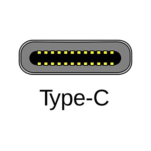 Huetron TM 6 FT USB Type C Male to Type C Male Cable for ZTE Axon 7