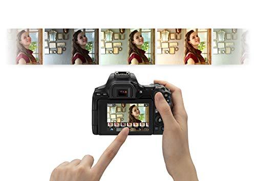 Canon EOS 200D II 24.1MP Digital SLR Camera + EF-S 18-55mm f4 is STM Lens (Black) 7