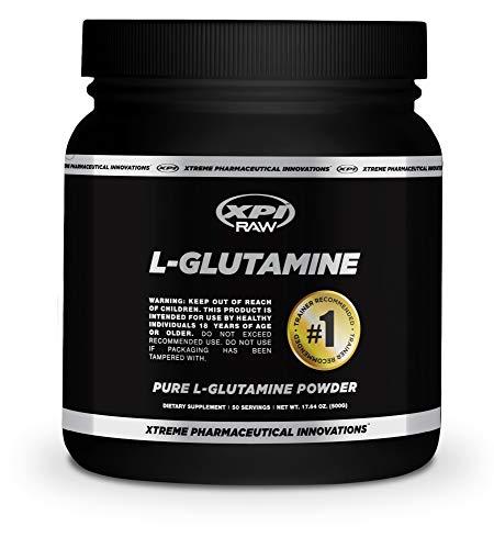 Cheap XPI RAW L-Glutamine Powder 500 Grams – Non-GMO, Made in The USA