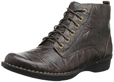 Amazon.com | Clarks Women's Whistle Ballad Boot, Brown