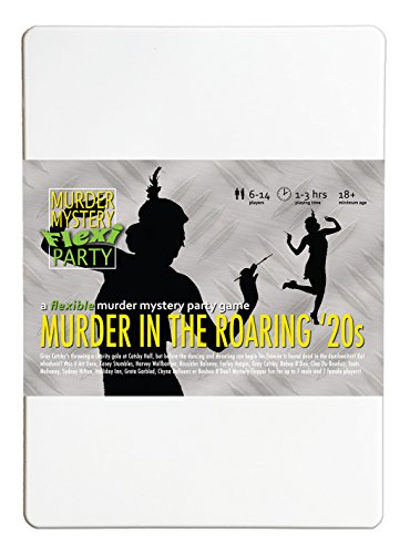 Murder Mystery Flexi Party Murder in The Roaring 20s 6-14 Player ()