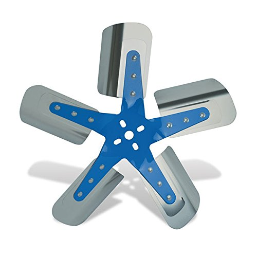 Flex-a-lite 1315 Blue Star Stainless Steel 5-Blade 15-1/4
