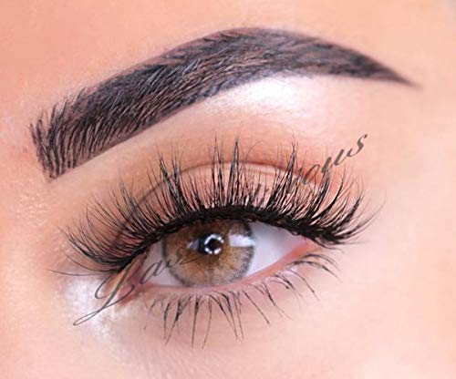 f9310c2d085 Sultrylicious 100% 3D Mink Eyelashes by Lashylicious Natural Fluffy With  Super Felxible Band and Useable