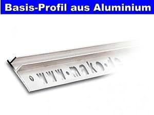 Mako flexiCLIP - Perfil de desnivel (aluminio, 90 cm)