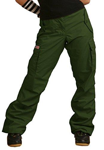 Pants Ufo (UFO's Girly Hipster Pant, Olive (Medium))