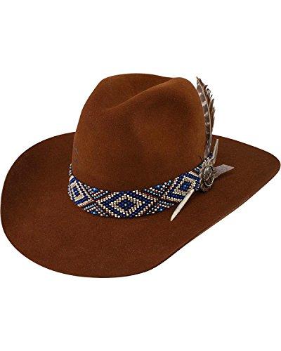 Charlie 1 Horse Women's Cognac Old Hag 5X Felt Hat Cognac 7 1/8 by Charlie 1 Horse