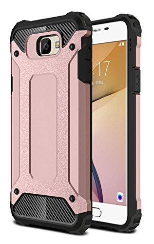 Slim Armor TPU Case for Samsung Galaxy J5 (Gold) - 4