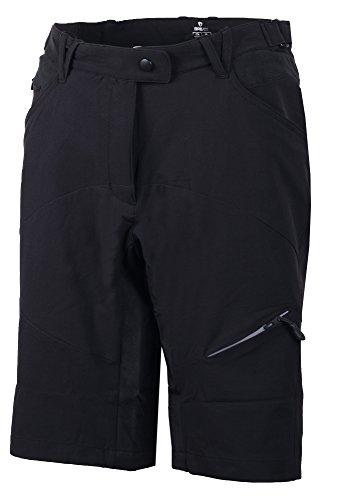 Black Pantaloncini Lady Cresta N003 Donna Shorts Briko 7gFwv4