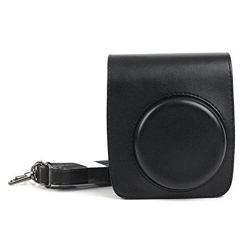 QUEEN3C Mini 90 Camera Case Compatible for Fujifilm Instax mini 90 Camera.(For mini90, Black)