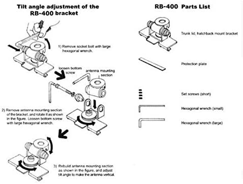 Buwico Auto Antennenhalterung Aus Edelstahl Halterung Elektronik