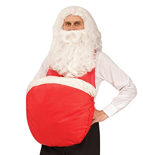 Super Saver Santa Belly Costume Accessory (Santa Belly)