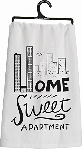Primitives By Kathy Tea Towel ''Home Sweet Apartment''