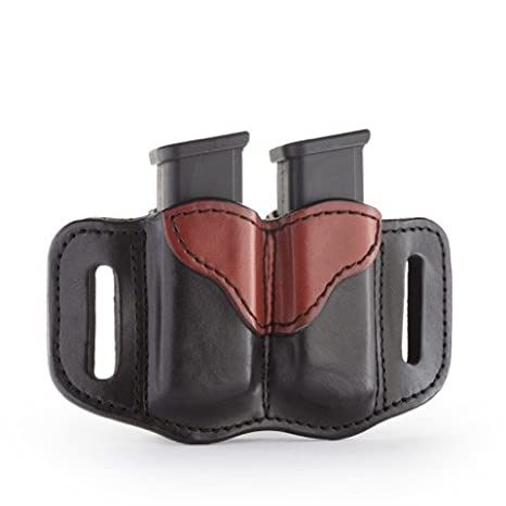 1791 GUNLEATHER 2.2 Mag Holster - Double Mag Pouch for Double Stack Mags b2188aa42