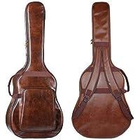 Haodene - Funda para guitarra acústica clásica de piel sintética de 41 pulgadas