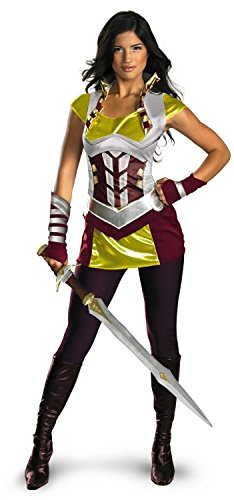 Thor Movie - Sif Deluxe Adult Costume Medium (8-10) - (Lady Sif Costume)