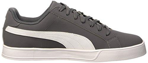 Puma Smash Vulc Sneaker, Steel/Gray Blanco, 6 Unidades