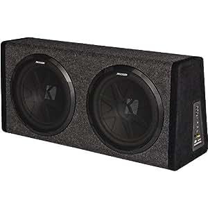 Kicker 11PHD12 Dual 12 Subs & 200-watt Amp In H