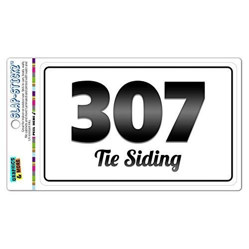 area-code-bw-window-laminated-sticker-307-wyoming-wy-newcastle-yoder-tie-siding