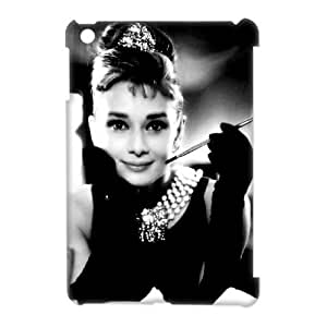 DIY Audrey Hepburn 3D Back Case for iPad mini, Customized Audrey Hepburn 3D Mini Hard Back Case, Audrey Hepburn 3D iPad Phone Case