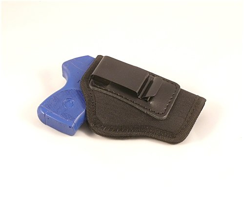Ruger LCP Fitted Concealed Carry Nylon IWB - Inside the Pants Clip Pistol Holster. Also Fits Cz83 and Similar Size Sub-compacts