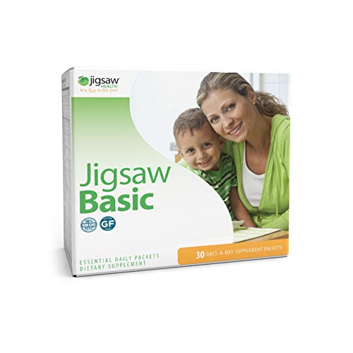 Jigsaw Health - Basic Essential Multivitamin Supplement Daily Packets, 30 Day Supply