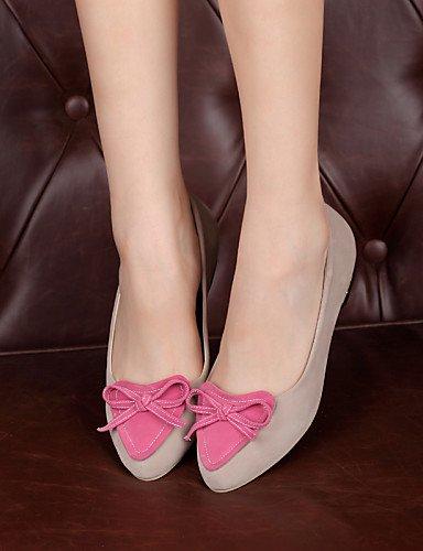 casual Flats zapatos eu37 piel us6 5 y Beige uk4 5 punta plano cn37 azul 5 talón blue negro sintética oficina vestido Toe de de mujer 7 carrera PDX rojo SvZwq
