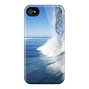Tpu Shockproof/dirt-proof Female Surfer Cover Case For Iphone(4/4s)