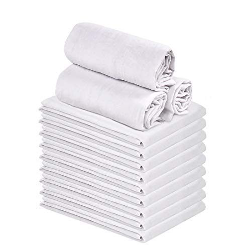 Talvania Classic White Flour Towels product image