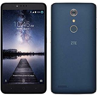 ZTE ZMAX PRO Z981 4G LTE 13MP Smartphone (Metro PCS/T-Mobile) (Renewed)