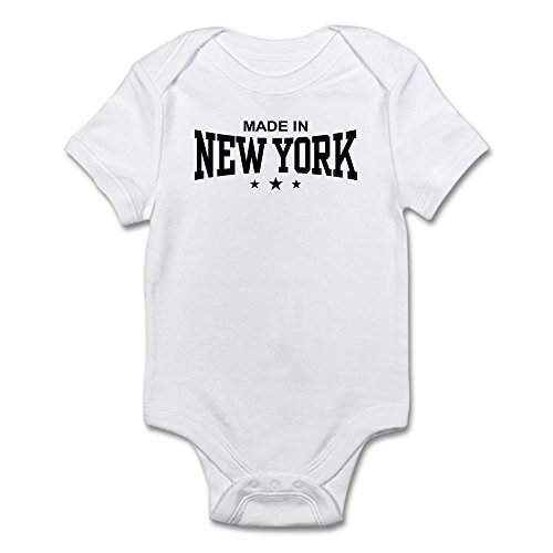 CafePress Made In New York Infant Bodysuit - Cute Infant Bodysuit Baby - Yonkers Woman Ny To Woman