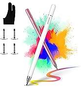 [2 Pcs] joyroom Stylus Pen for Touch Screen, Universal iPad Pencil for Kid Student Drawing, Writi...