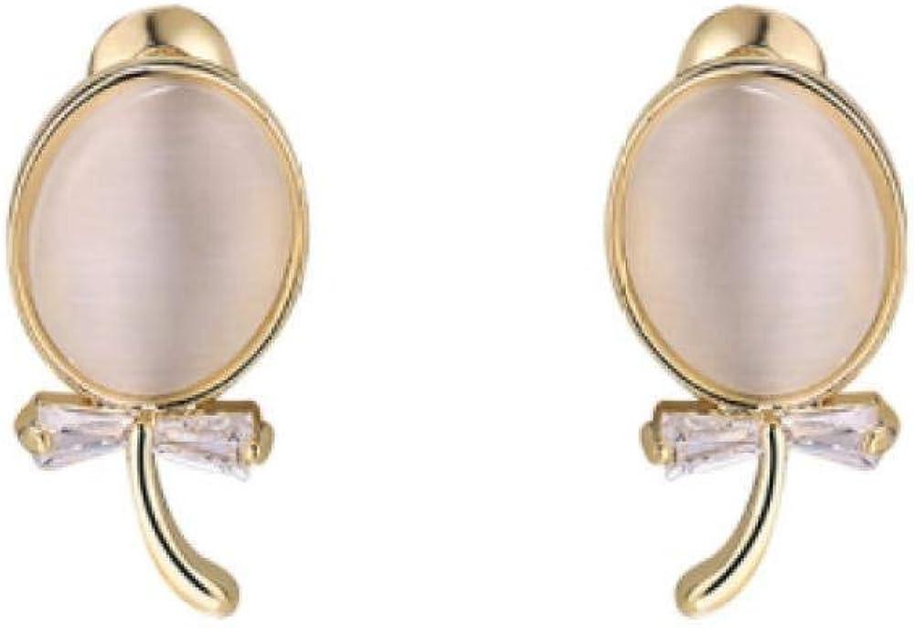 Pendientes pendientes de ojo de gato marea temperamento femenino pendientes de gama alta pendientes de plata de moda simple